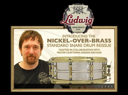 LUDWIG Nickel Over Brass Standard Reissue (2010)